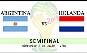 Se definió el rival de Argentina en semifinales, serà el pròximo 9 de Julio
