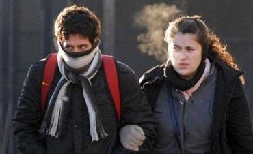 Arranca una semana muy fría en nuestra ciudad
