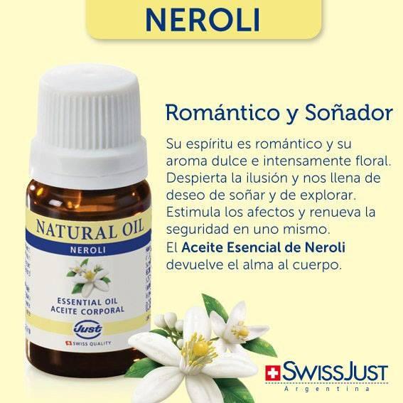 Romántico y Soñador. Aceite Esencial de Neroli by Claudia Hernández consultora