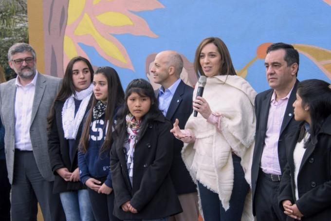 """Vidal lanzó el programa """"Abanderados"""""""
