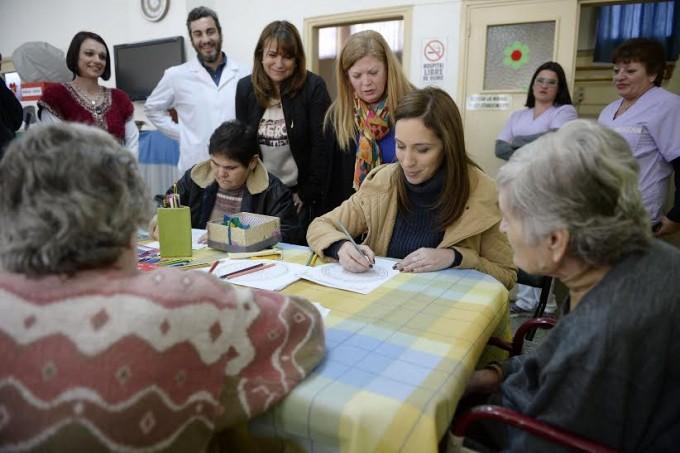 La Gobernadora de la provincia de Buenos Aires, María Eugenia Vidal, recorrió localidades