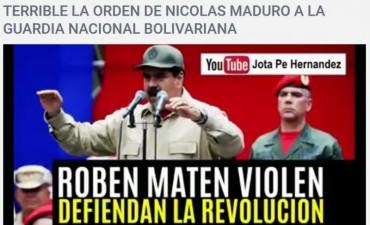 Toca a las tropas rebelarse contra el gobierno de Maduro. By Carlos Vilchez Navamuel