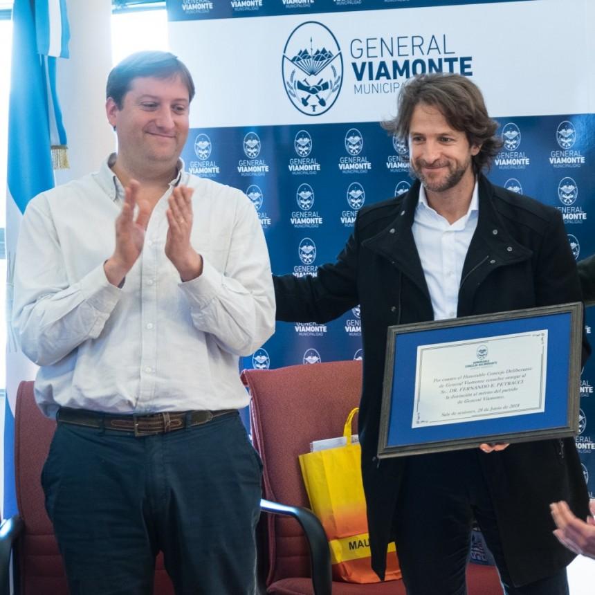 Reconocimiento  al Dr Fernando Petracci