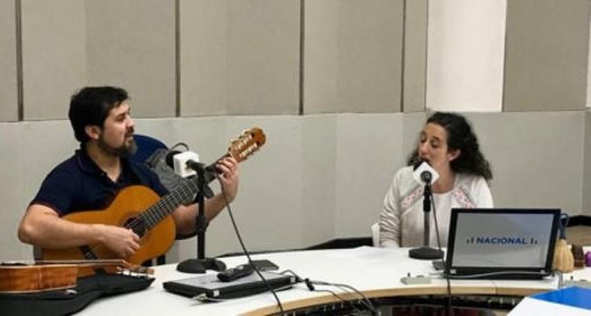 La Toldense Milagros Torrecilla, y su nuevo trabajo de raíces latinoamericanas se presentó en Radio Nacional