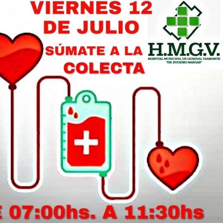 Jornada voluntaria de donación de sangre