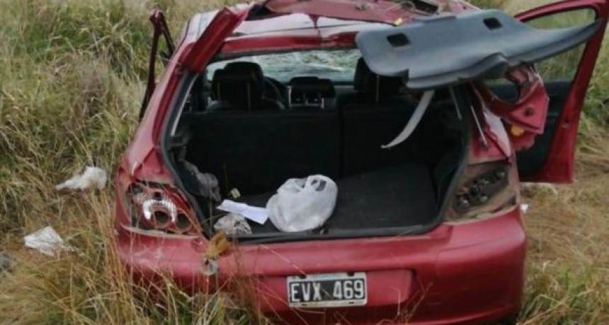 Ruta 65: Un hombre de Los Toldos, perdió la vida tras despistarse con su automóvil