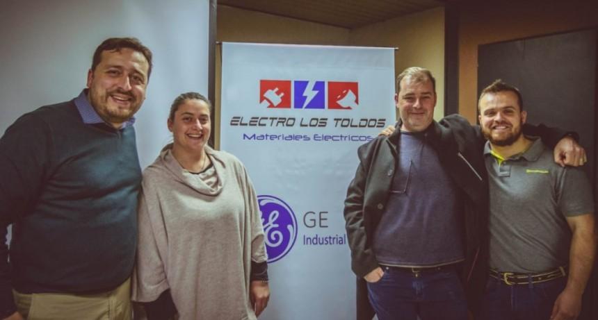 Electro Los Toldos brindó capacitación junto a la empresa General Electric Argentina, en nuestro medio