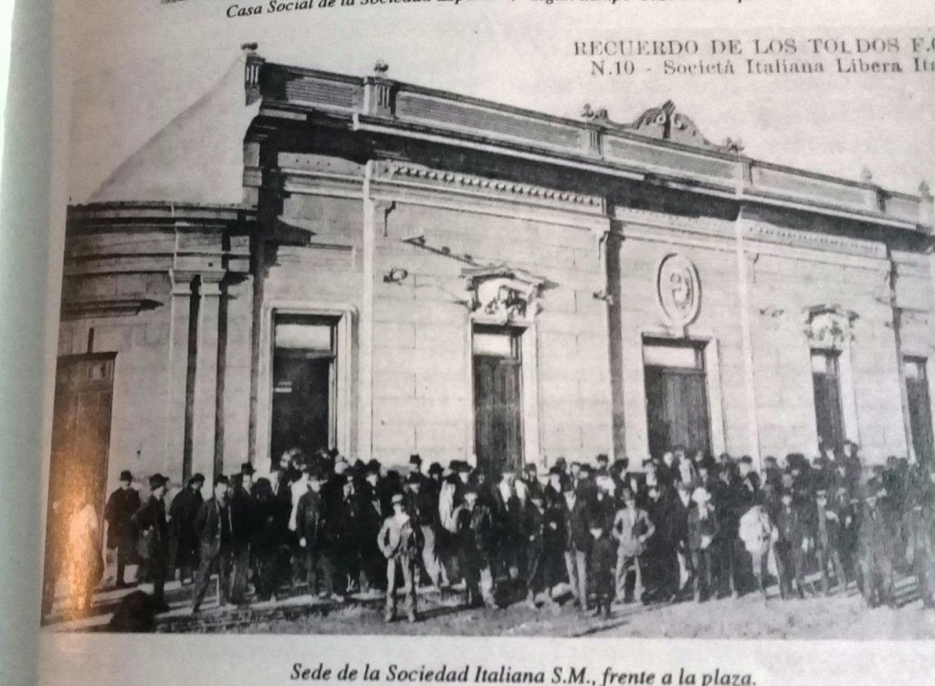 Se cumplieron  125° años de la Asociación Italiana de Socorros Mutuos de Los Toldos