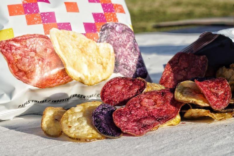 Chips de papas andinas, un snack con 10 mil años de sabor