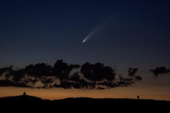 FENOMENO ASTRAL | Cuándo y cómo ver el cometa Neowise 003