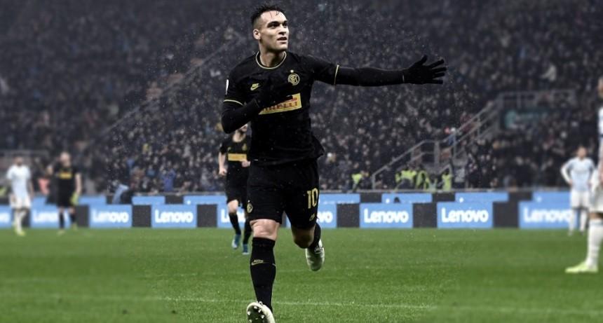 Inter, con Lautaro Martínez, recibe al Bologna y Napoli juega con la Roma