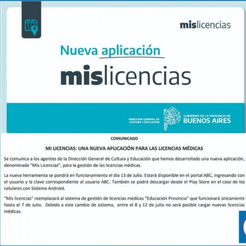 DESDE LA FEB |  informan que hay una nueva aplicación para las licencias médicas