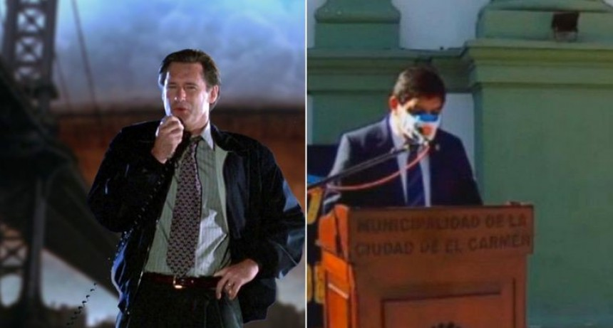 ¿Un intendente jujeño copió su discurso de una película?