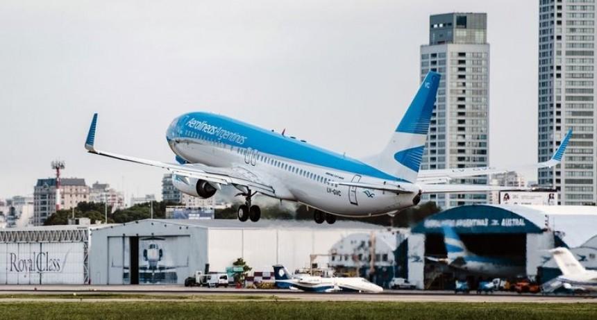 Aerolíneas anunció nuevos vuelos para repatriados