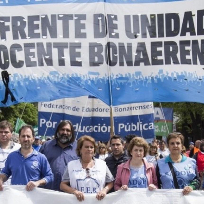 El Frente de Unidad Docente Bonaerense participó de la presentación de la demostración de los Actos Públicos Digitales