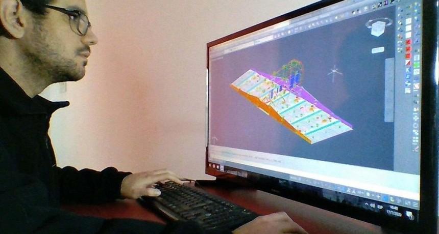 Ingenieros de la UNLP palpitan el lanzamiento del Saocom 1B