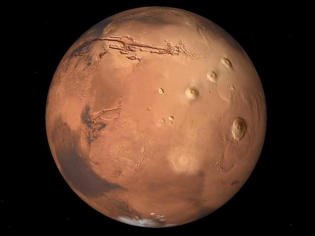 Hoy se verá un impactante encuentro de Marte y Venus