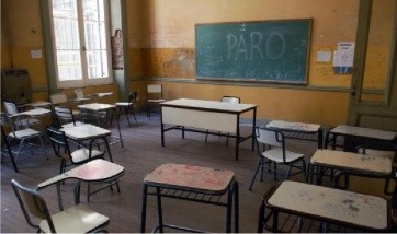 Paro: Provincia descontará a los docentes