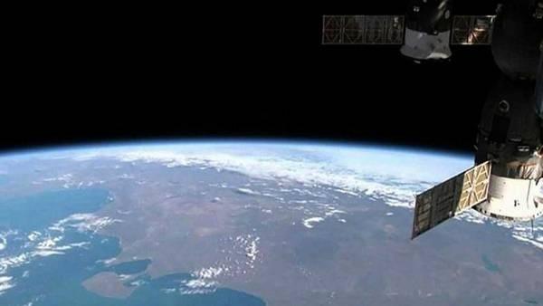 Espectacular vista del territorio argentino tomada desde el espacio