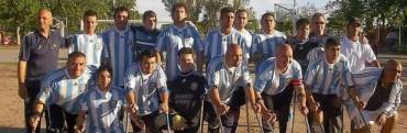 Estuvo la Pre Selección de Futbolistas Amputados