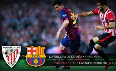Viví la final de la Supercopa de España por Cablevisión