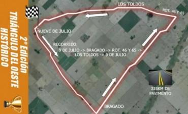 """Este domingo pasa por nuestra ciudad el """"Triangulo del Oeste Histórico"""""""