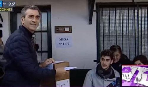 Elecciones 2017. Votó Randazzo
