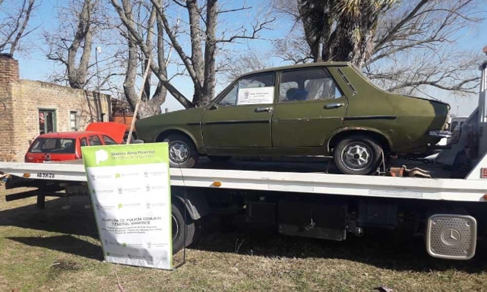 La policía de Los Toldos incautó vehículos con documentación adulterada