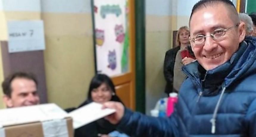 Vota el candidato a Intendente por el espacio Consenso Federal