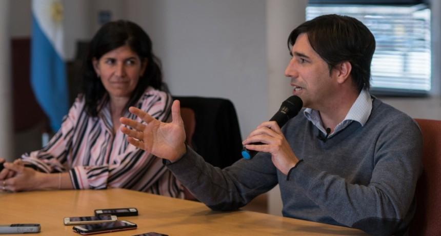 El intendente Flexas dialogó con la prensa luego de las elecciones PASO