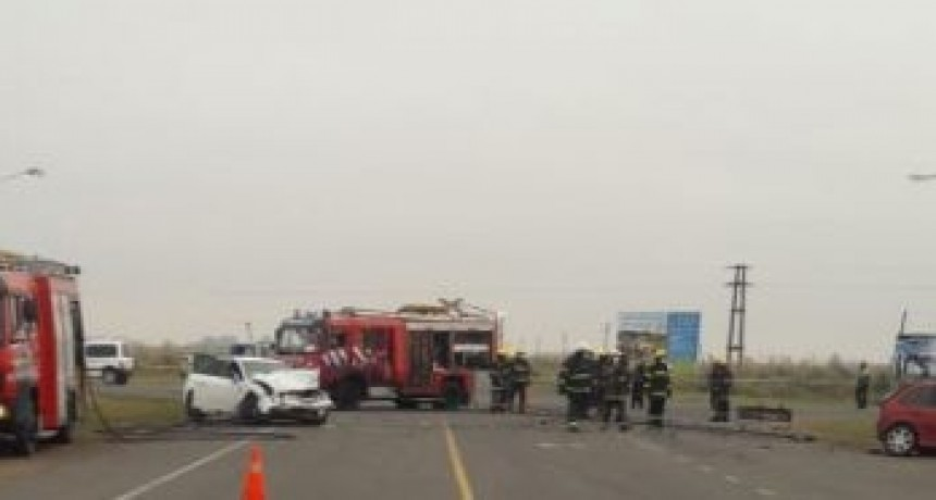 Un Toldense sufre un accidente en la zona de Norberto de la Riestra