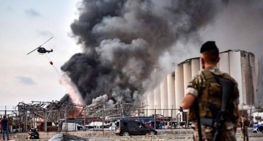 Explosión en Beirut: nitrato de amonio, la causa detrás del estallido que arrasó la ciudad
