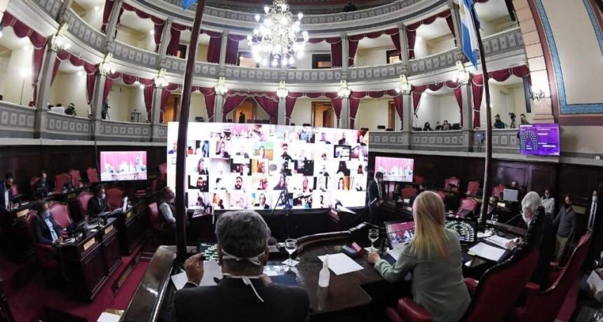 Se aprobó la Ley de Financiamiento de la Provincia