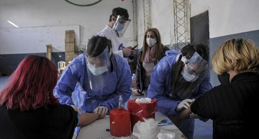La provincia de Buenos Aires suma 5.245 casos y alcanza los 199.747 infectados