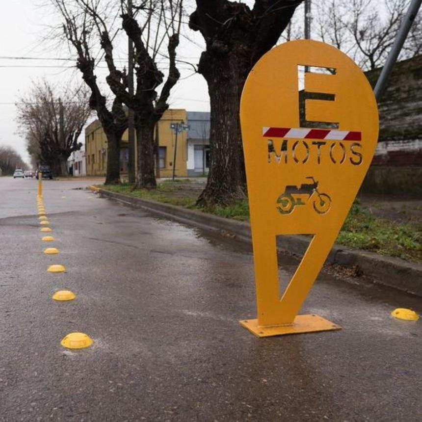 Nuevo estacionamiento de motos en nuestra ciudad