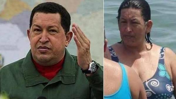 Una mujer muy parecida a Hugo Chávez revoluciona las redes sociales