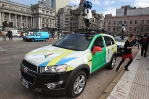 Ya está disponible el Google Street View de las calles argentinas