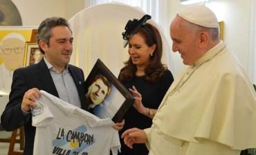 CFK niega preocupación del Papa por la gobernabilidad