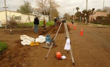 Inicio a la ejecución de la obra desagües cloacales del Barrio Juan El Bueno