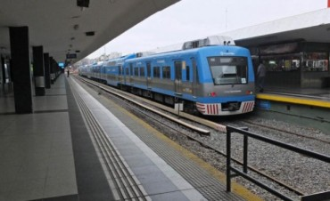 Descarriló una formación del tren Sarmiento y hay demoras