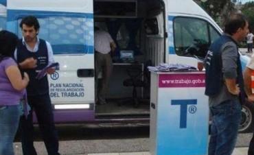 Llega a la ciudad la oficina móvil del Ministerio de Trabajo de la Nación, en el marco de la campaña de asesoramiento y difusión.