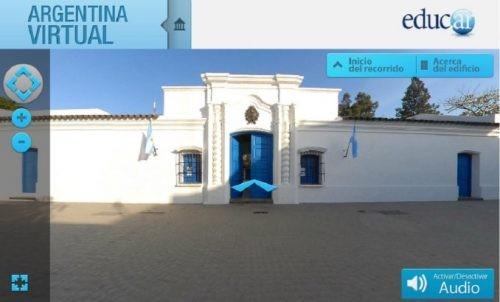 Una app permite recorrer la Casa de Tucumán con realidad aumentada