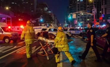 Fuerte explosión en Nueva York: 29 heridos