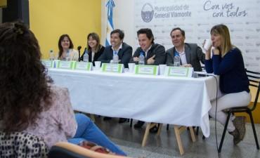 Visitò Los Toldos  Gabriel Zinny, Director General de Cultura y Educación