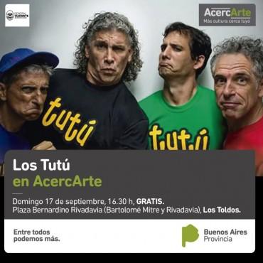 BIENVENIDOS #Los Tutú a Los Toldos