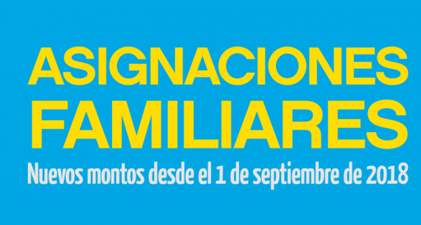 Asignaciones Familiares | Septiembre 2018