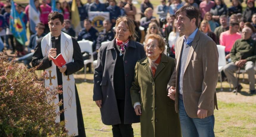 Se realizó el acto protocolar con motivo de los 110 años de Baigorrita. Este domingo continuan los festejos