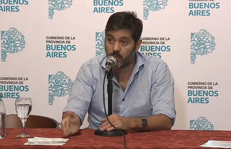 Bianco reconoció que los salarios de la policía están «retrasados»