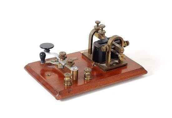 145 años | Primera comunicación telegráfica