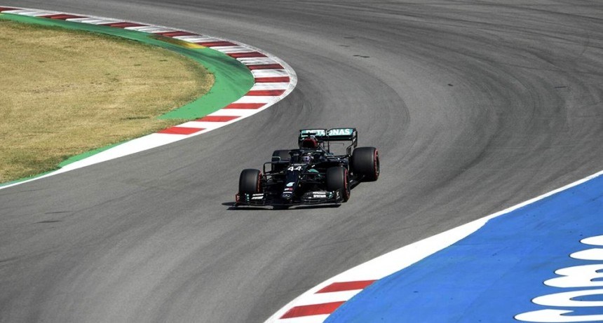 Lewis Hamilton vuelve a largar en la